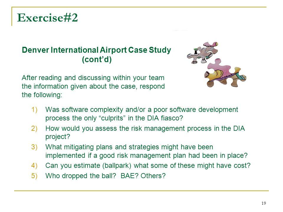 denver international airport case study swot analysis