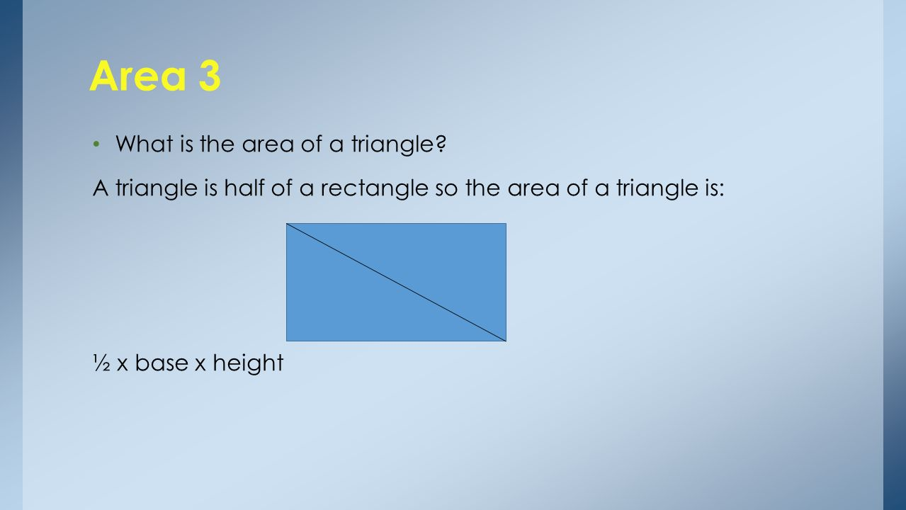 Perimeter, Area and Volume Presented by Bill Haining Functional ...
