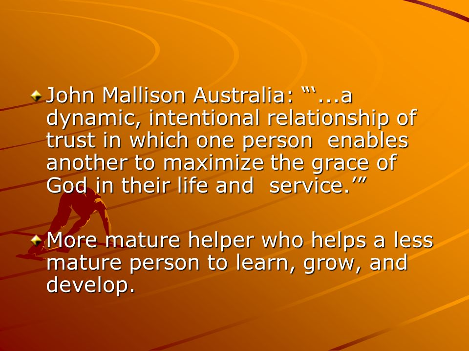 MENTORING OTHER LEADERS john m  dettoni, ph d   I  WHAT or