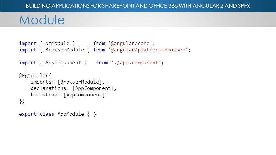 Hillier Building Applications for Office 365 and SharePoint with