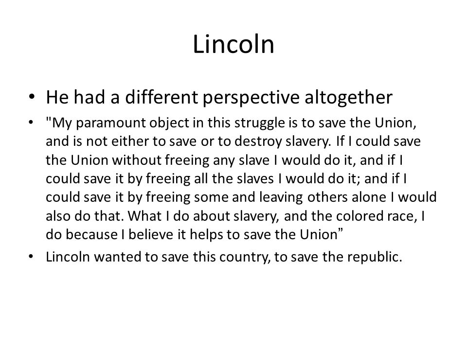 compare and contrast abraham lincoln and jefferson davis inaugural address