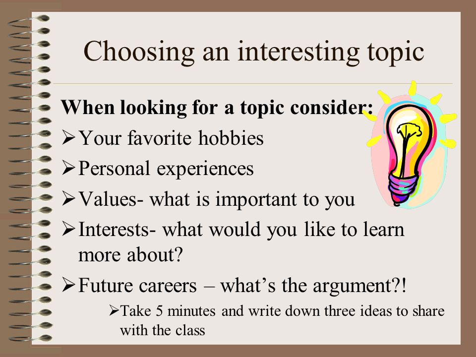 ideas for a senior project topic