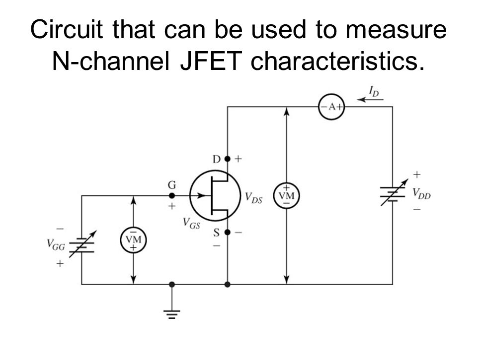Circuit Diagram Of N Channel Jfet Trusted Wiring Diagram