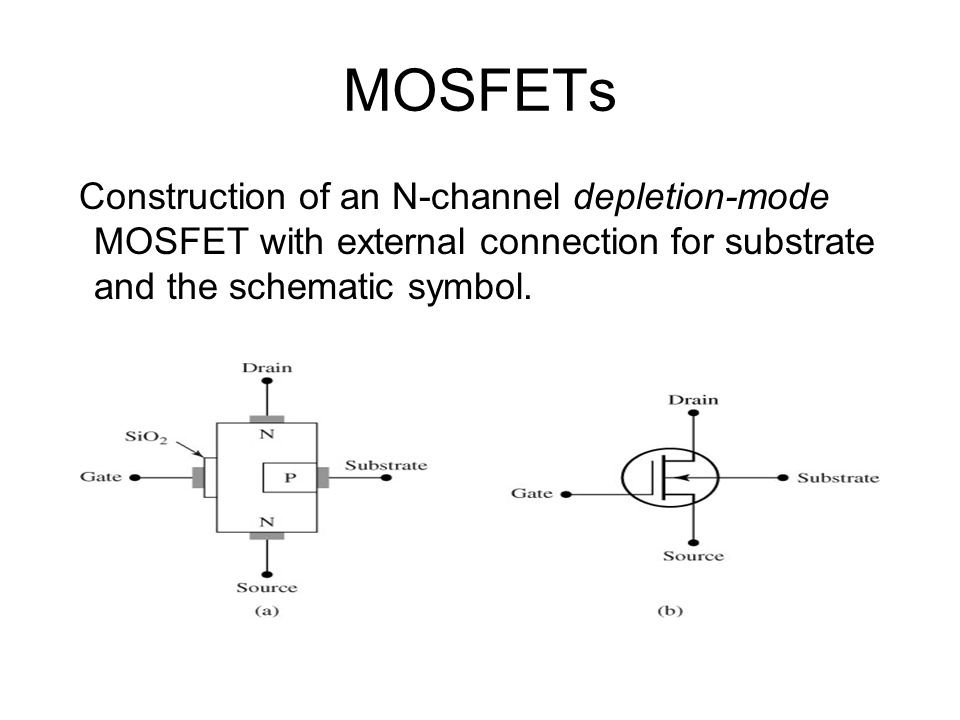 Mosfet Schematic Symbol Mosfet Schematic Symbols Wiring Diagrams