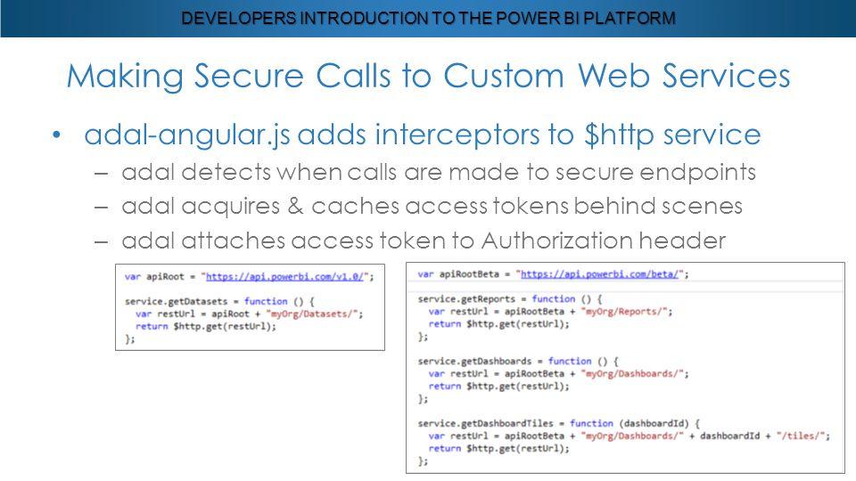 Developers Introduction to the Power BI Platform  - ppt download