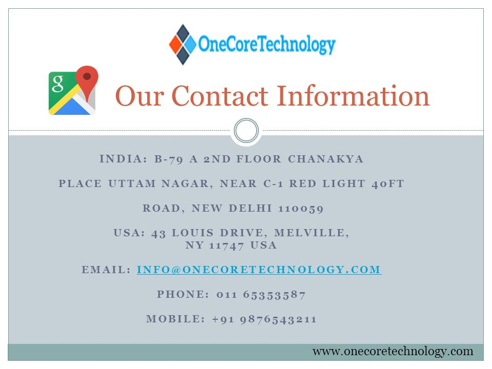 ONE CORE TECHNOLOGY IS INDIA`S BEST DIGITAL MARKETING AND SEO