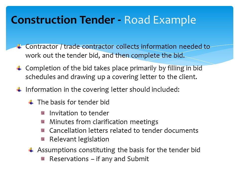 Construction tender process tender steps between client contractor 9 construction stopboris Images