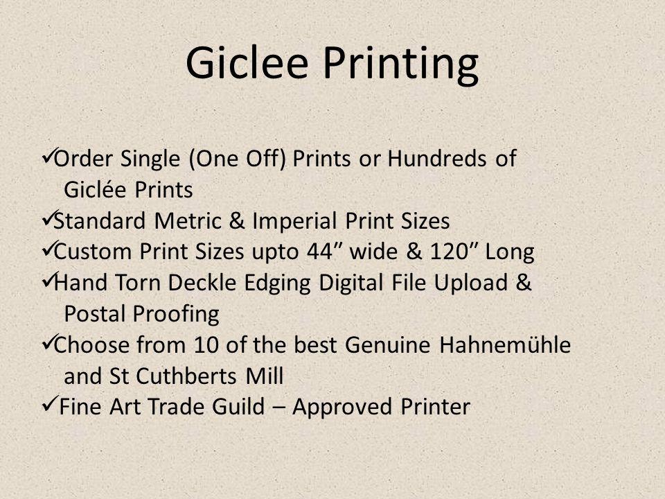 Get Cheap Fine Art Giclee, Photo & Artwork Printing Services