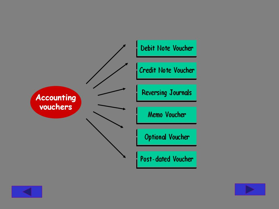 Accounting vouchers