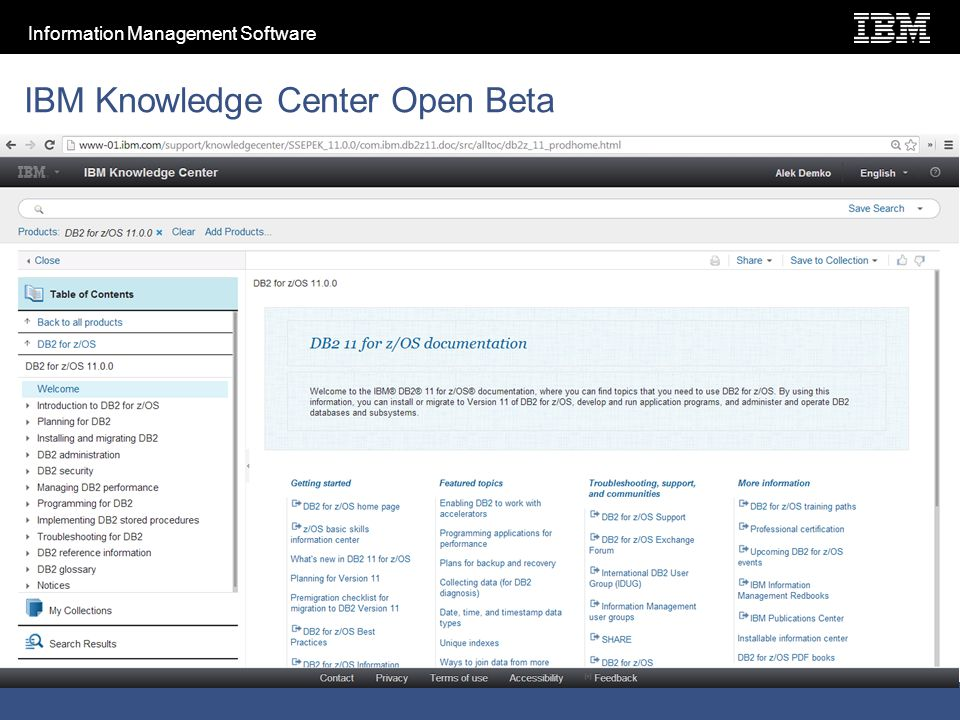 2012 IBM Corporation ® IBM Software Group IBM News Alek