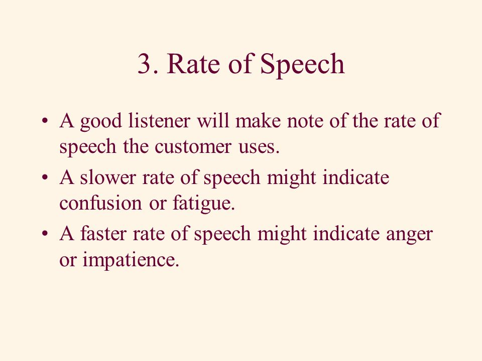 2. Word Content The third component of verbal communication is the words the speaker chooses.