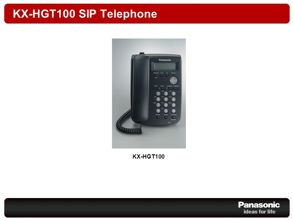 Panasonic Telephone Devices Business Class Telephone