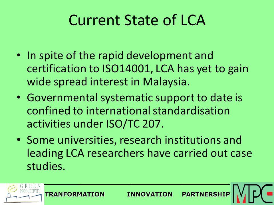 Tranformationinnovationpartnership Green Productivity And Lca In