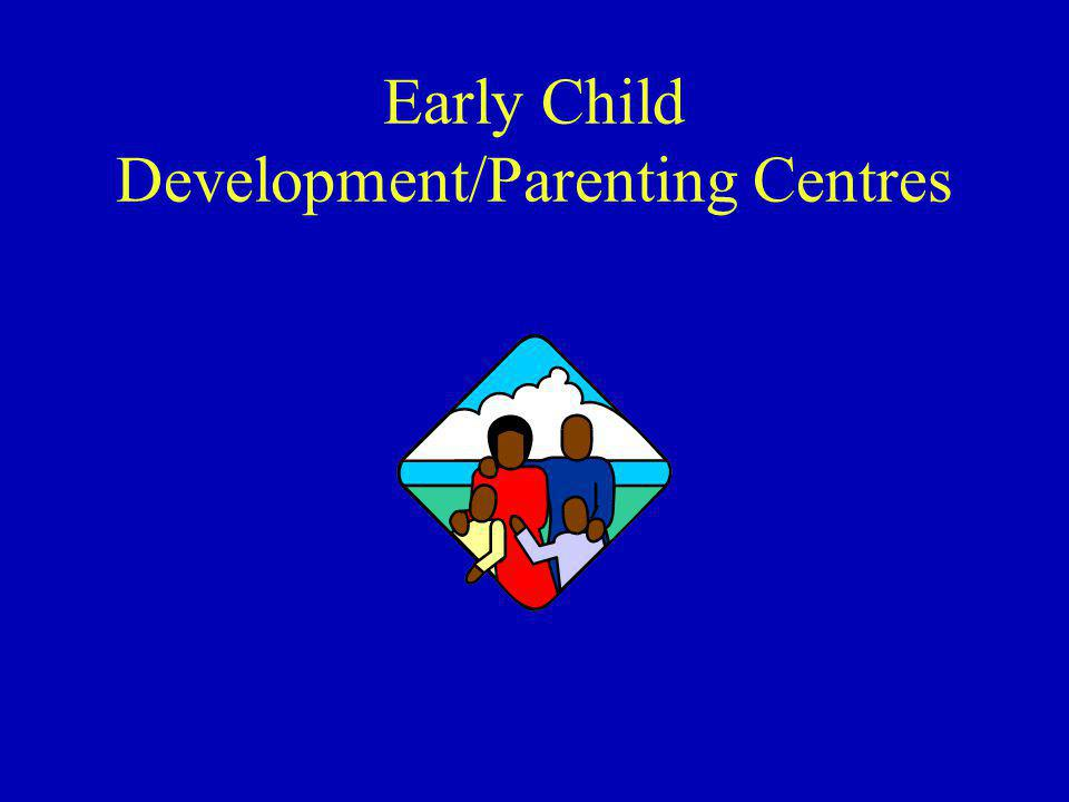 Early Child Development/Parenting Centres