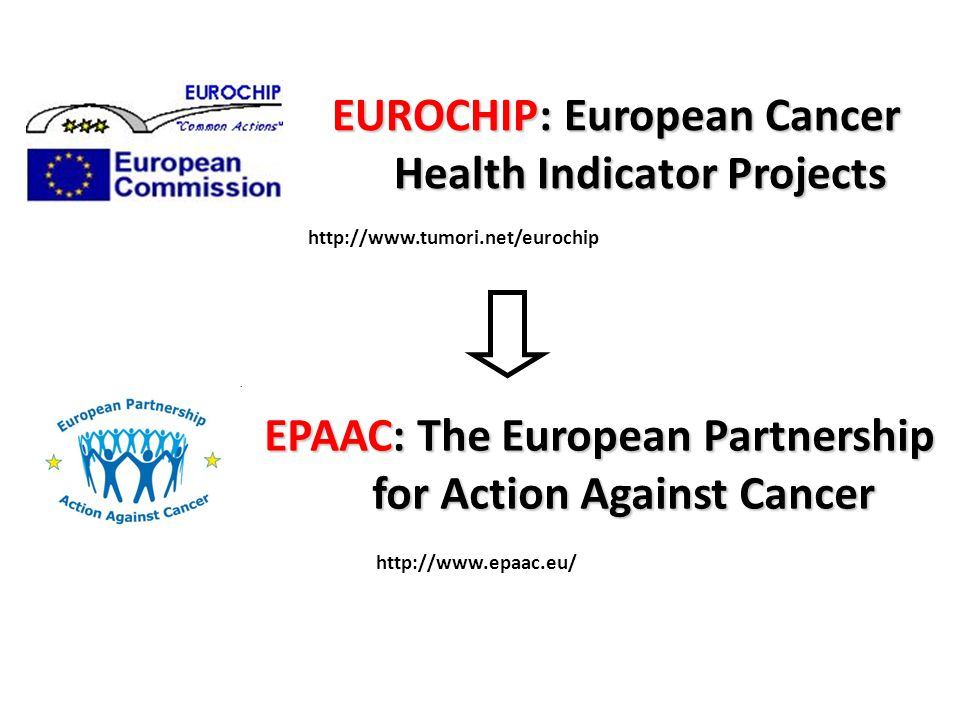 EUROCHIP: European Cancer Health Indicator Projects   EPAAC: The European Partnership for Action Against Cancer