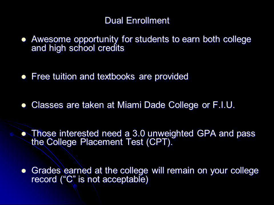 A Prepared Graduate Is An Informed Graduate South Dade
