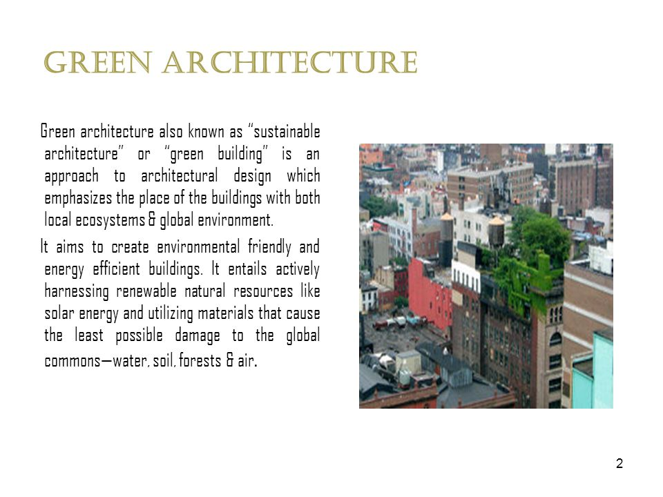 Library case study on green architecture  2 Green