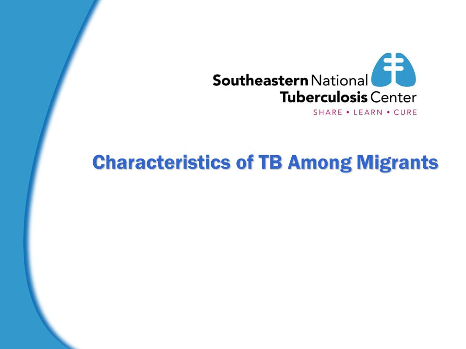 Characteristics of TB Among Migrants