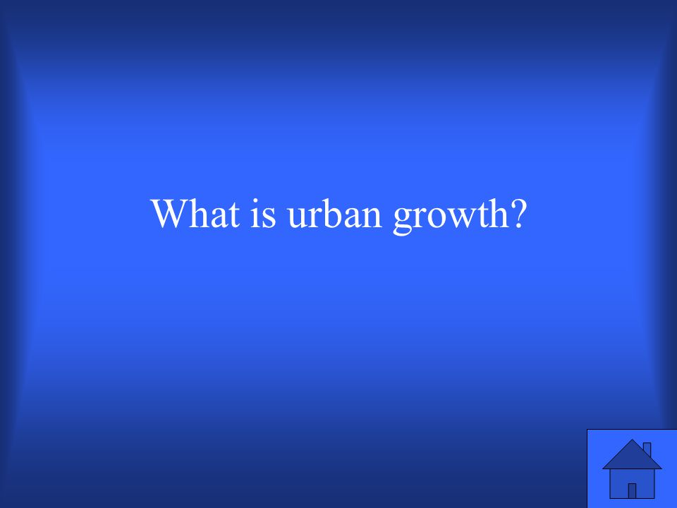 The term that refers to the actual number of people by which a citys population grows.