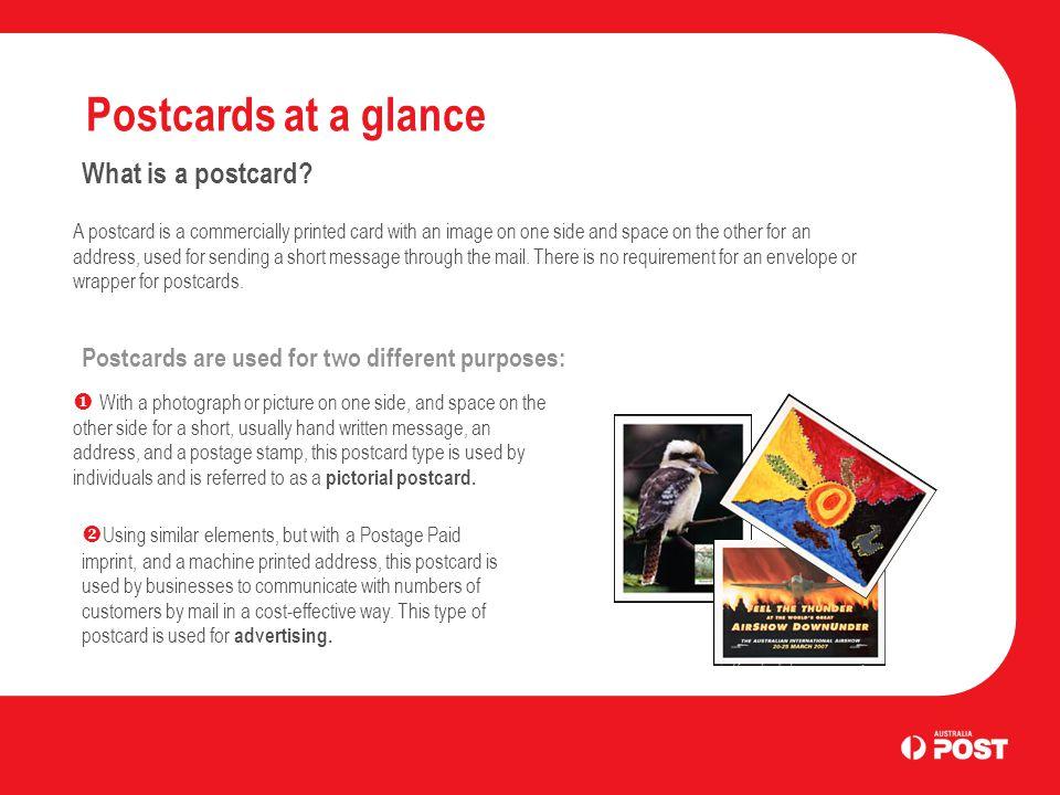 Postcards Business Letter Services Introduction Postcards enable