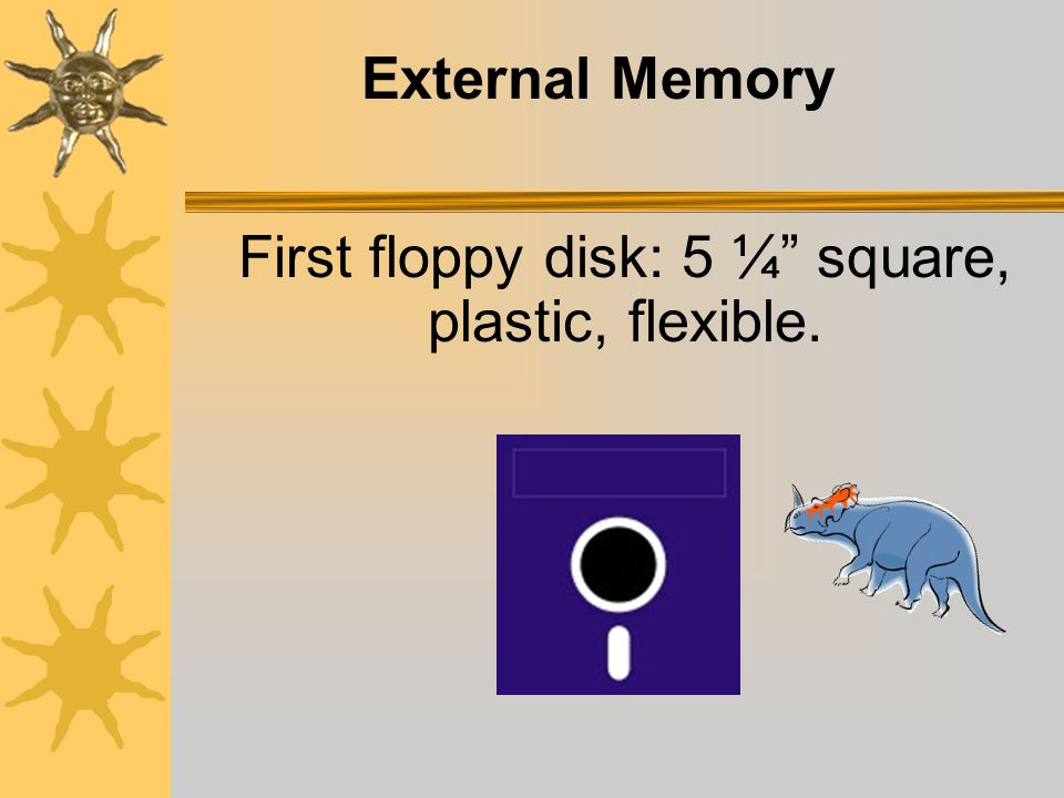 Internal Memory (cont.) RAM: expressed in units of a 1000 bytes (K) or kilobyte.