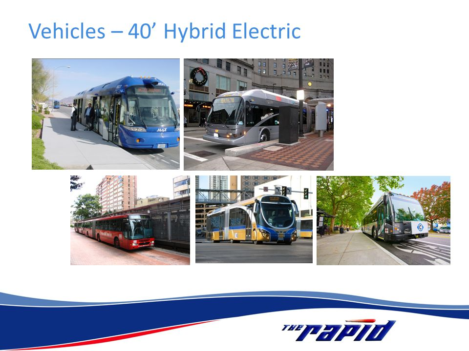 Vehicles – 40 Hybrid Electric