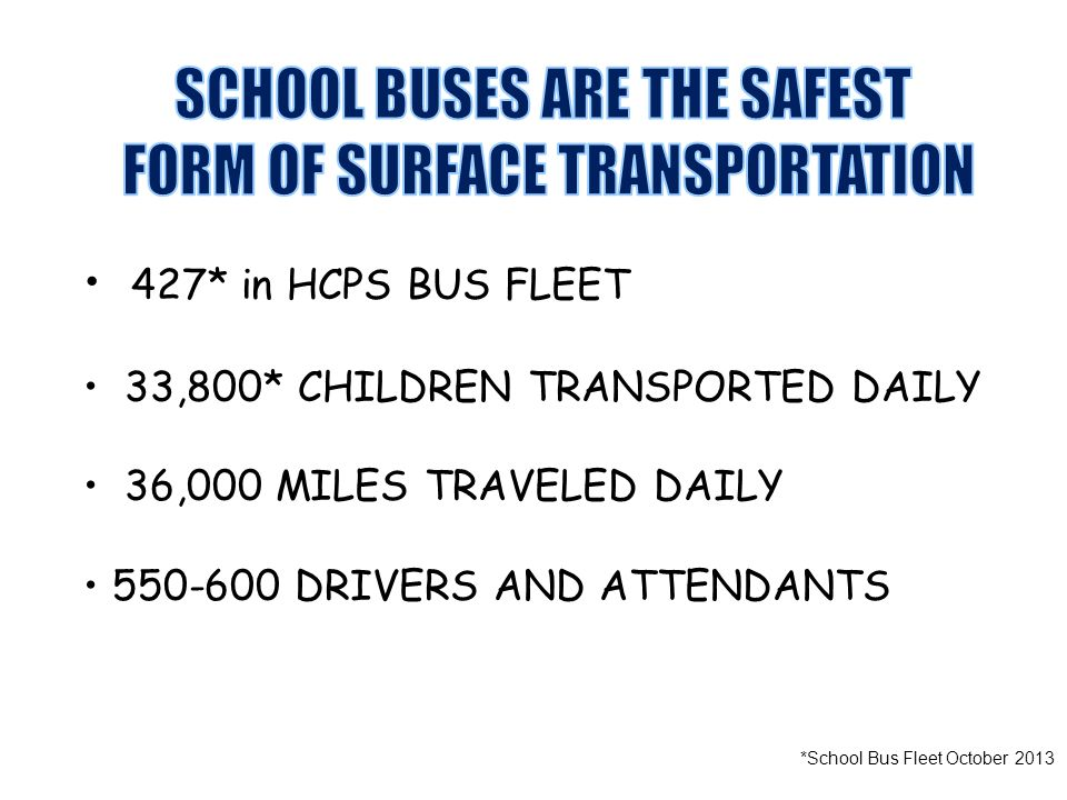 *School Bus Fleet October 2013