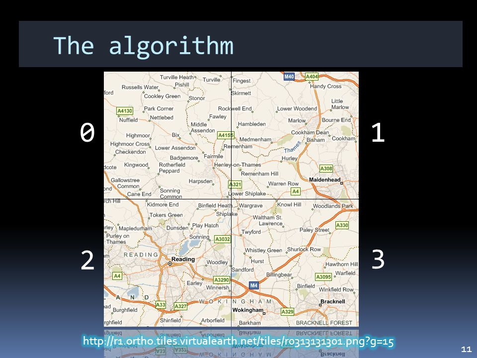 The algorithm 01 3 2 11
