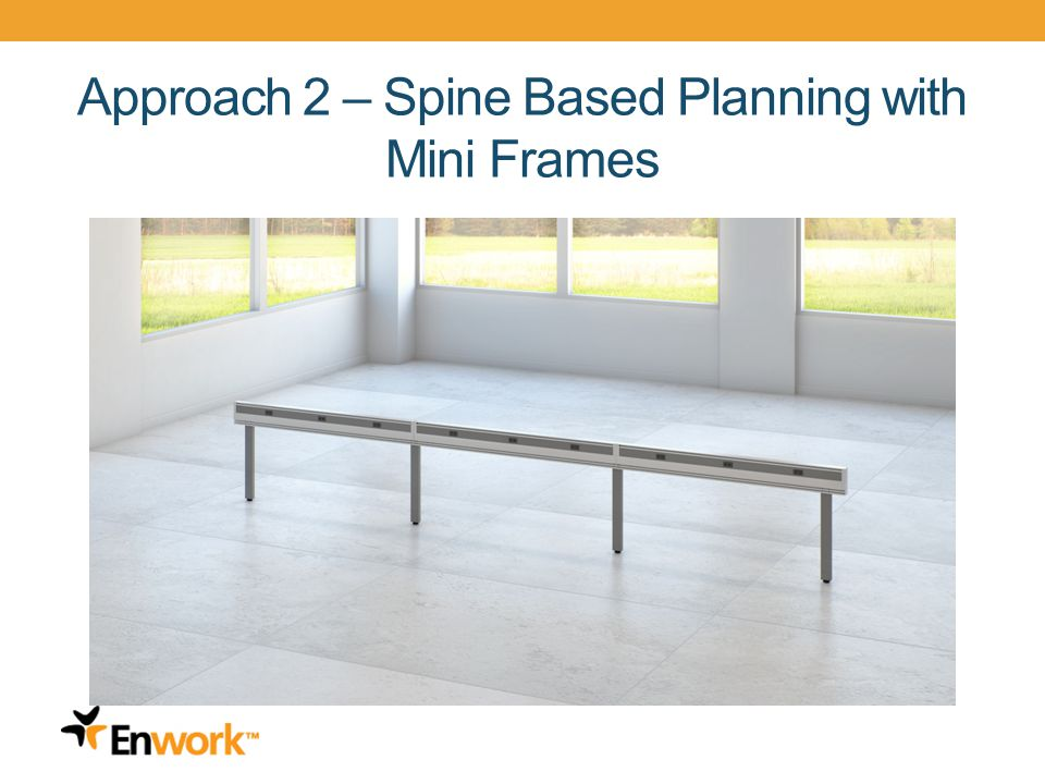 Approach 2 – Spine Based Planning with Mini Frames 17