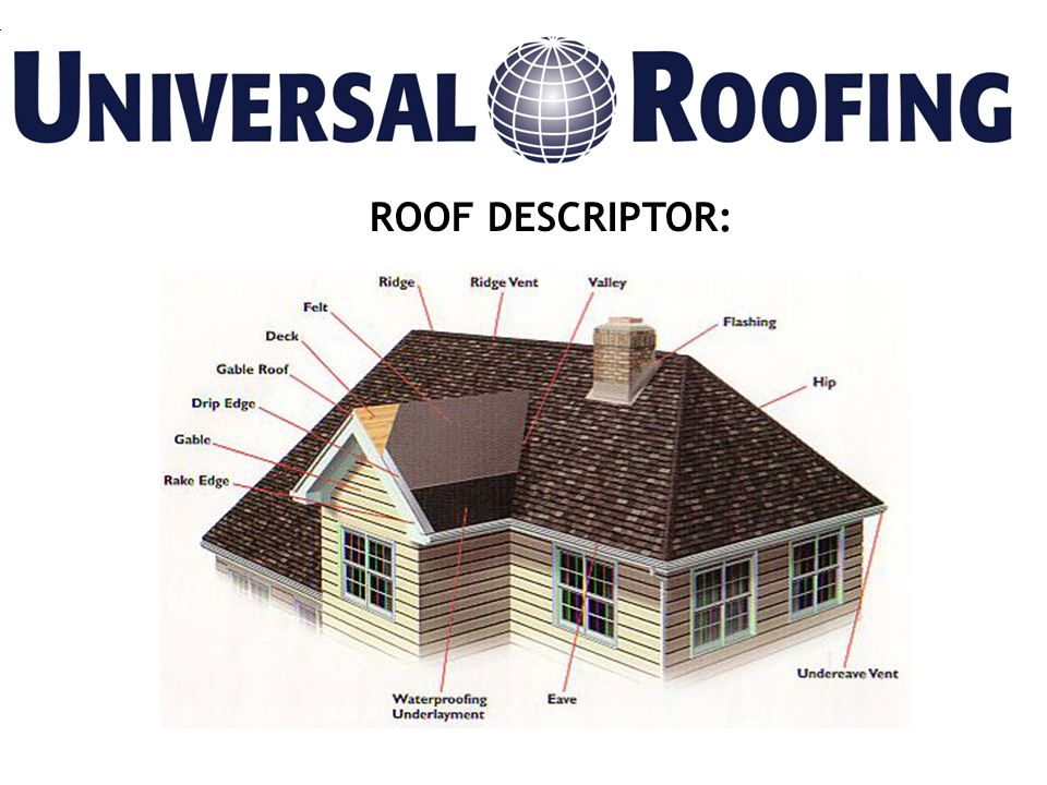 ROOF DESCRIPTOR:
