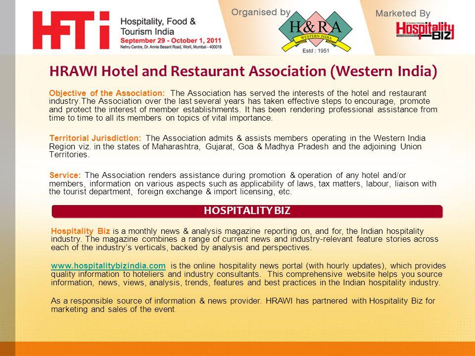 HRAWI Hotel and Restaurant Association (Western India
