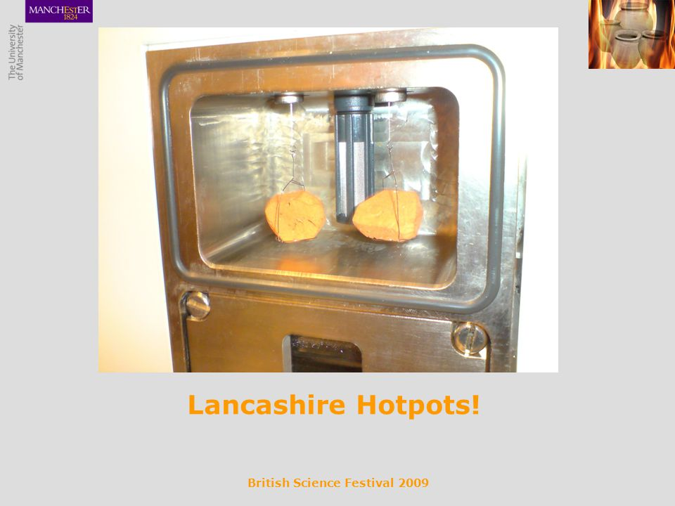 British Science Festival 2009 Lancashire Hotpots!