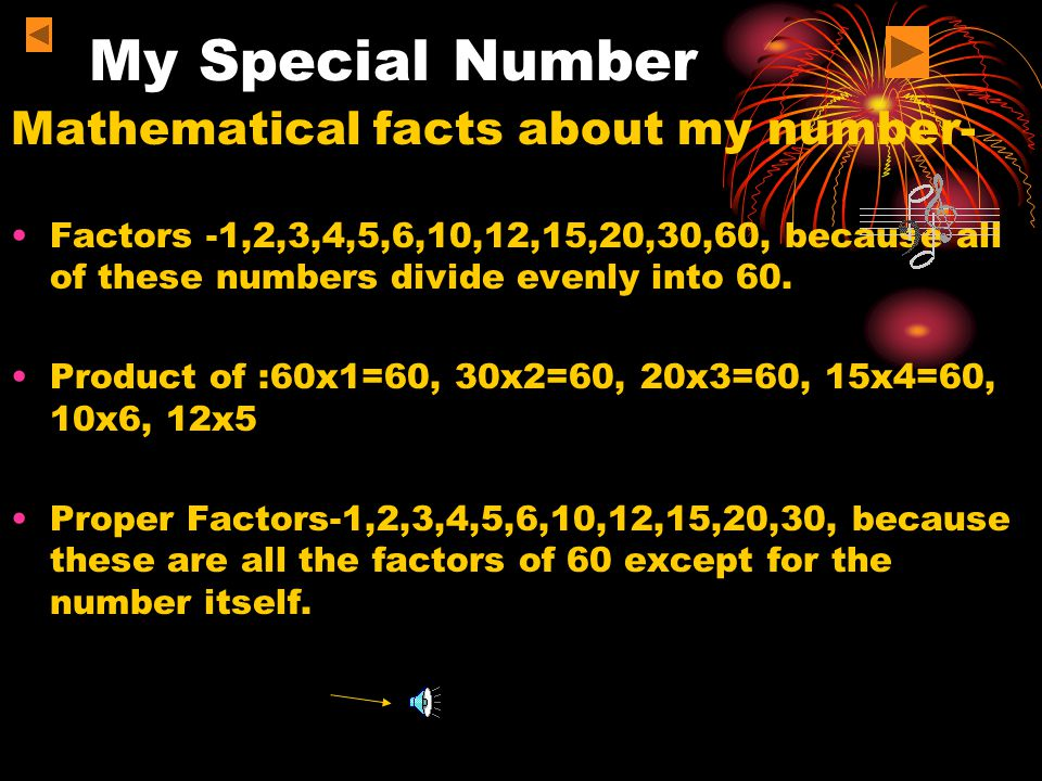 My Special Number My Special Number Afrin12/10/ ppt download