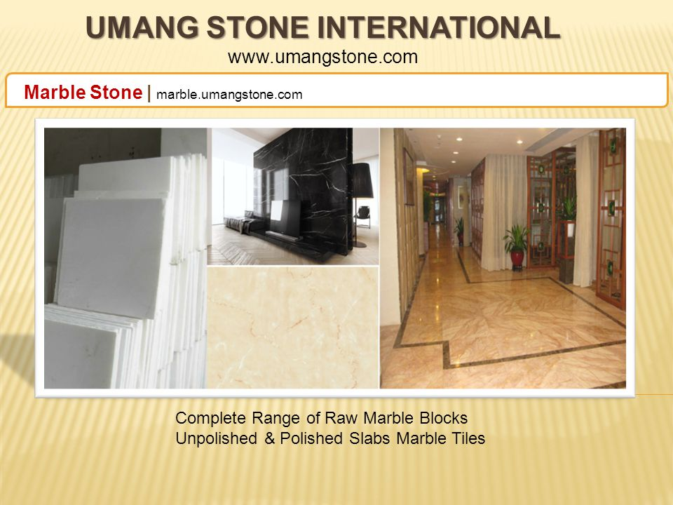 UMANG STONE INTERNATIONAL UMANG STONE INTERNATIONAL www.umangstone.com Granite Stone | granite.umangstone.com Golden Color Range of Granite Stone