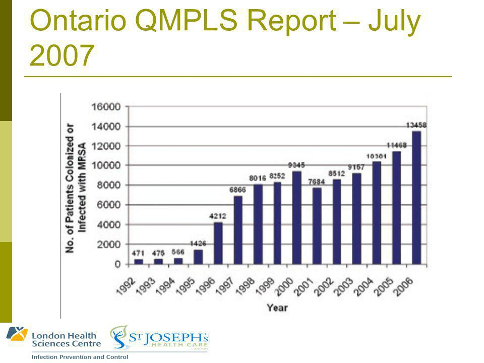 Ontario QMPLS Report – July 2007