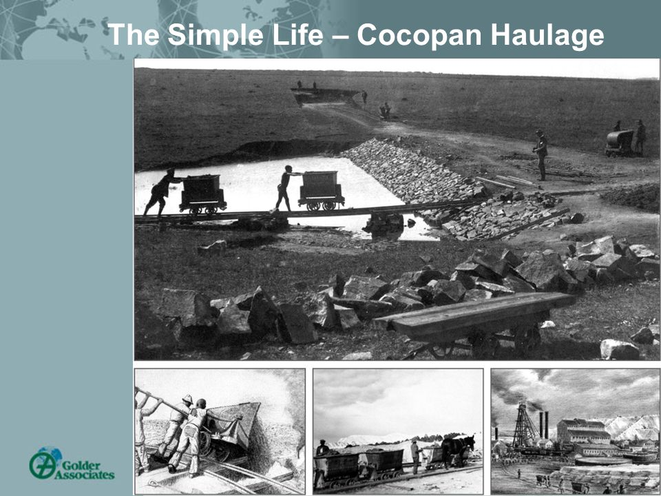 Tailings – Brisbane 28/02/06 4 The Simple Life – Cocopan Haulage