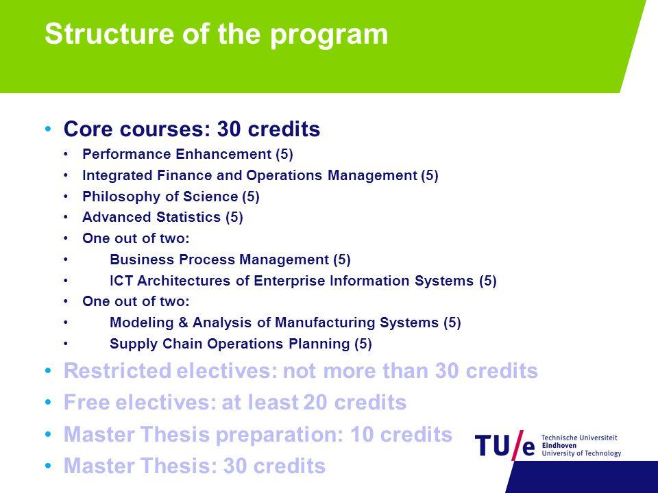 technische bedrijfskunde thesis