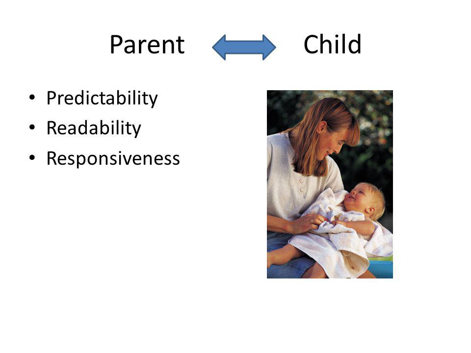 Parent Child Predictability Readability Responsiveness