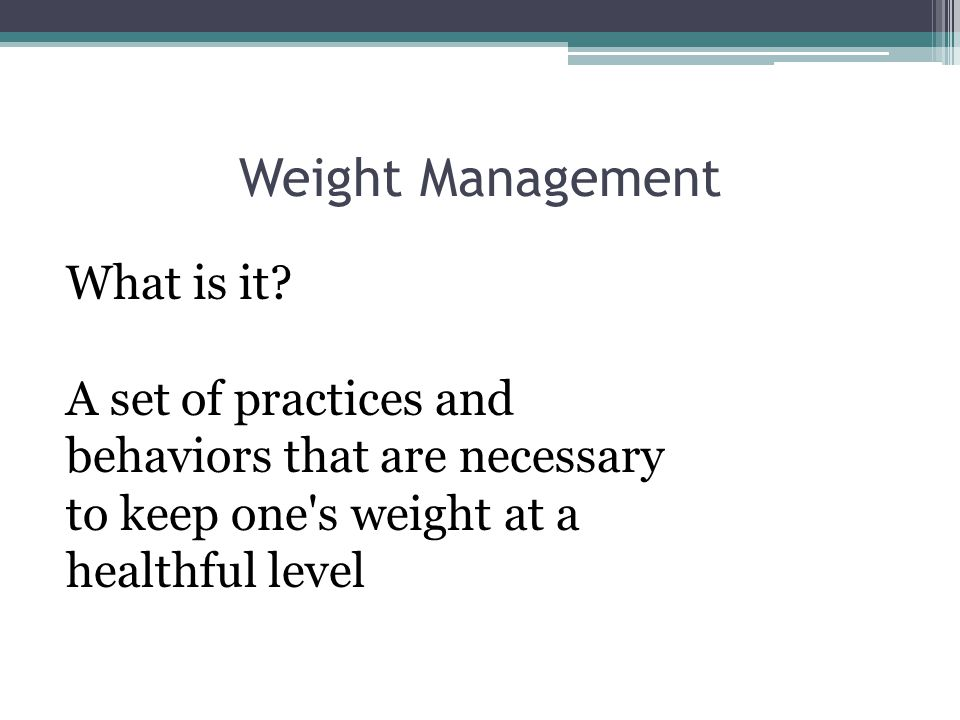 Other Factor Influencing Weight & Fat Control Heredity / Genetics Leptin: decreases appetite and increases energy spent.