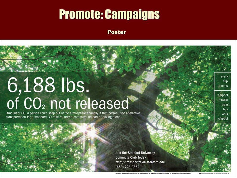 Promote: Campaigns Poster Poster