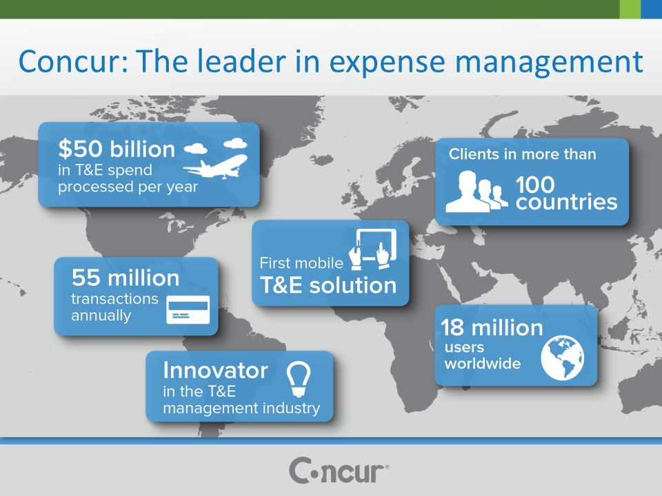 Concur: The leader in expense management