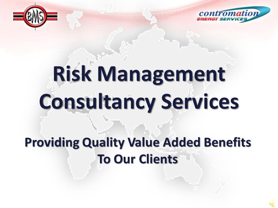 Risk Management Consultancy Services Providing Quality Value Added Benefits To Our Clients