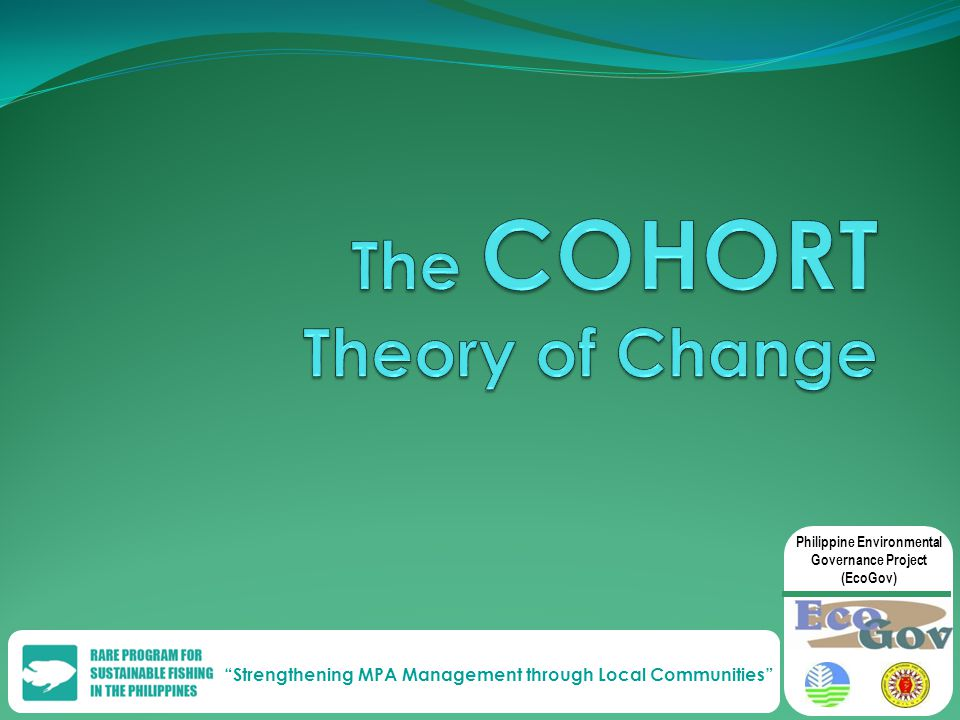 Strengthening MPA Management through Local Communities Philippine Environmental Governance Project (EcoGov)
