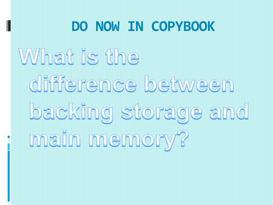 DO NOW IN COPYBOOK