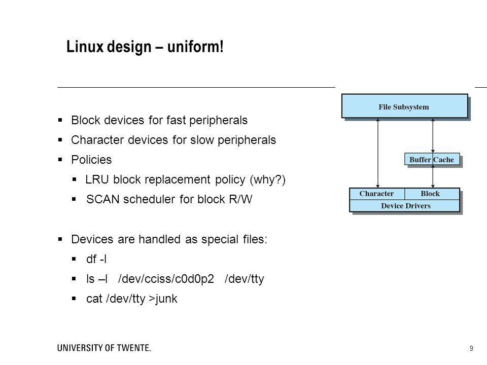 Linux design – uniform.