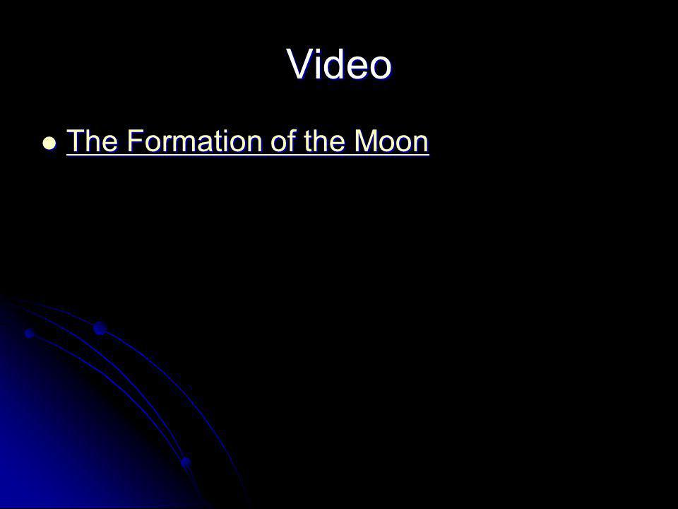 Video The Formation of the Moon The Formation of the Moon The Formation of the Moon The Formation of the Moon