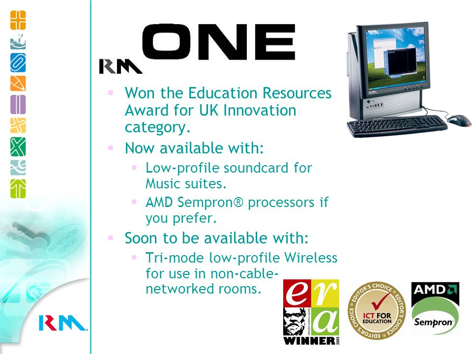 RM One Won the Education Resources Award for UK Innovation category.