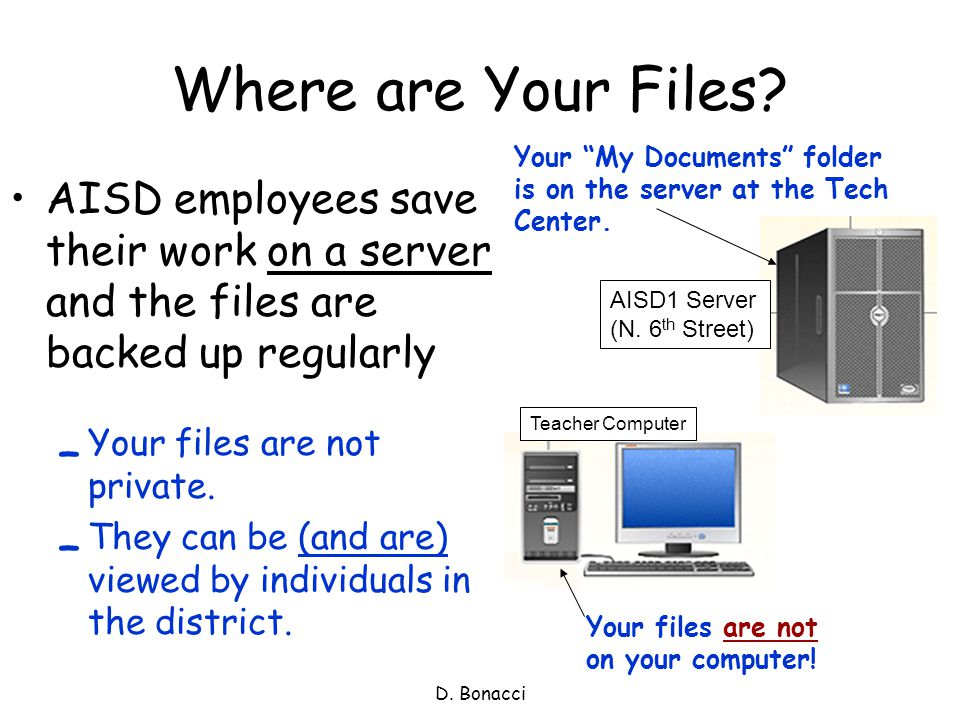 Where are Your Files.