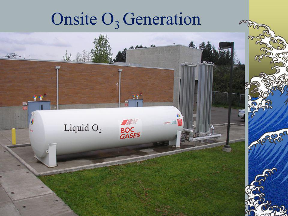 DHS Drinking Water Program 46 Onsite O 3 Generation Liquid O 2