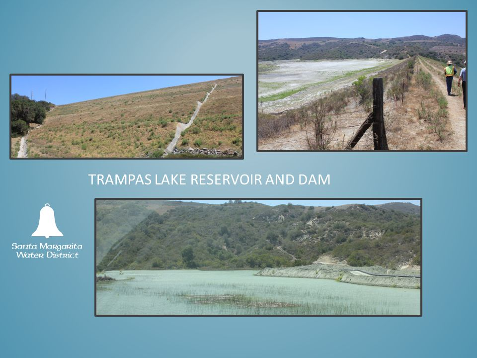 TRAMPAS LAKE RESERVOIR AND DAM